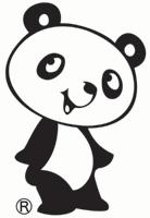 パンダのマークが目印です